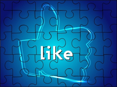Facebook Like Puzzle